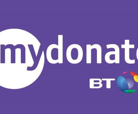 BTMyDonate logo